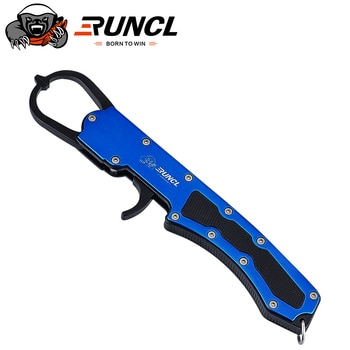 Runcl Best Aluminum Alloy Fishing Pliers Grip Loading Capacity 30kg No-Puncture Lip Gripper With Tensile Strong