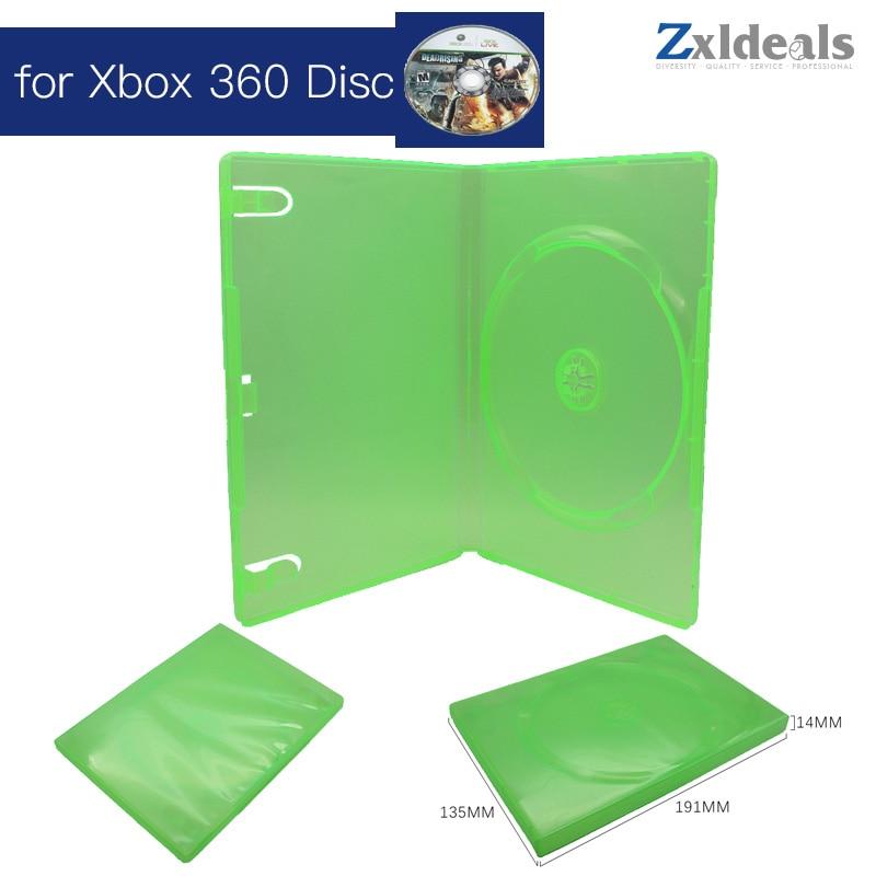 Сменный Чехол для XBOX 360, игровой диск, запасная зеленая коробка, один CD