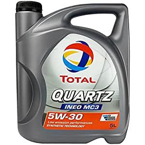 Cuarzo Total Ineo + MC3 5W30 aceite de motor, 5L