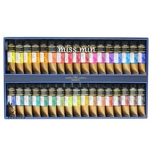 South Korea Imported MEJELLO Gold Artist-Grade 34colors Watercolor Paint Watercolour Kit for Artist