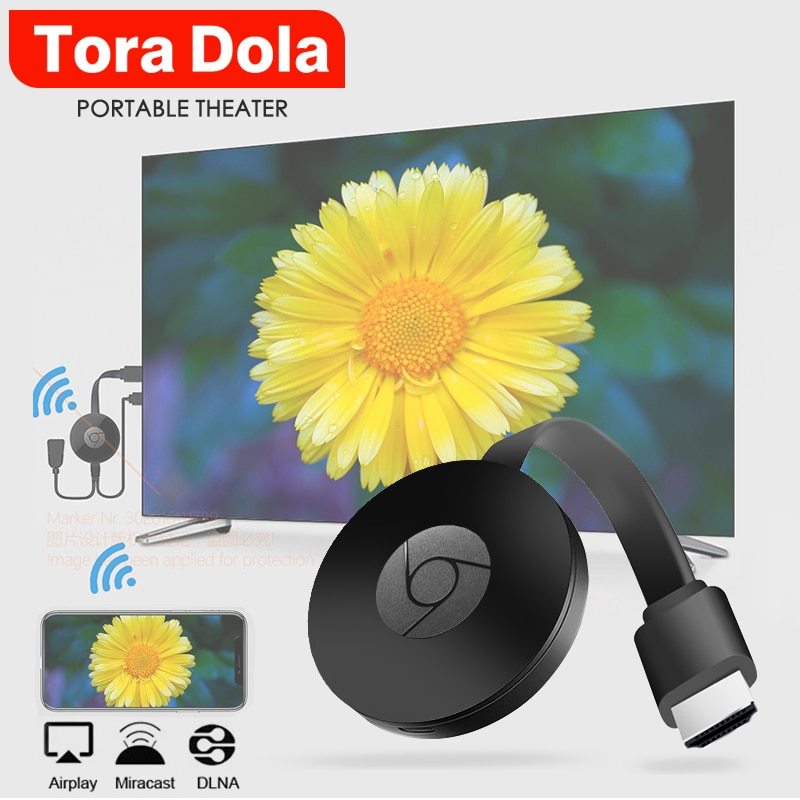 Беспроводной HD ключ TORA DOLA, поддержка подключения проектора. ТВ. Монитор (HD вход), беспроводной же экран, телефон с тем же экраном, компьютер