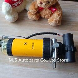 Original 32925950 conjunto do filtro de óleo combustível eletrônico completamente bomba combustível separador para jcb sedimento combustível 32/925994 32/925869
