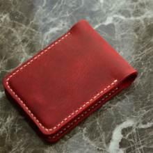 HANDMADE GENUİNE LEATHER CREDIT CARD HOLDER