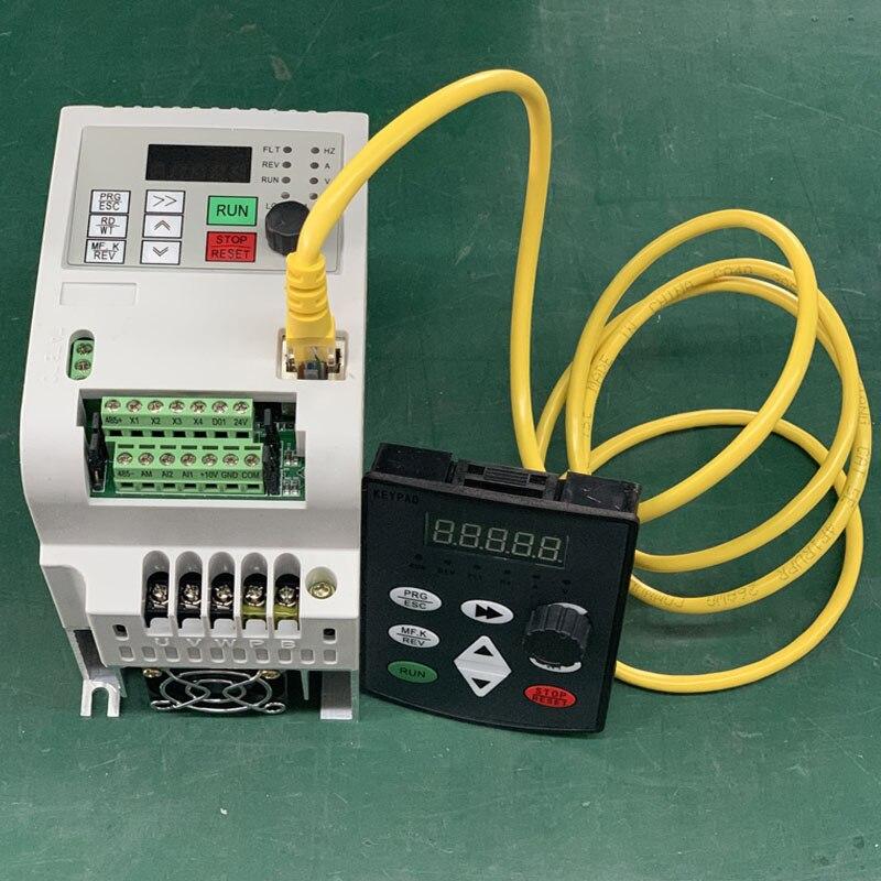 VFD Inverter 1.5KW/2.2KW/4KW/5.5KW Frequency Converter AT1 3P-220V Output CNC Spindle motor speed Control VFD Converter 2
