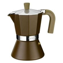 Italian Coffee Pot Monix M670006 (6 cups) Aluminium