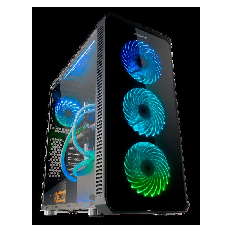 PC - Gaming Sobremesa (PC Gaming AMD Ryzen 5 3600, 16GB DDR4, Disco HDD 2TB + 480GB SSD, GTX 1660 6GB, Windows 10 HOME) (NUEVO)