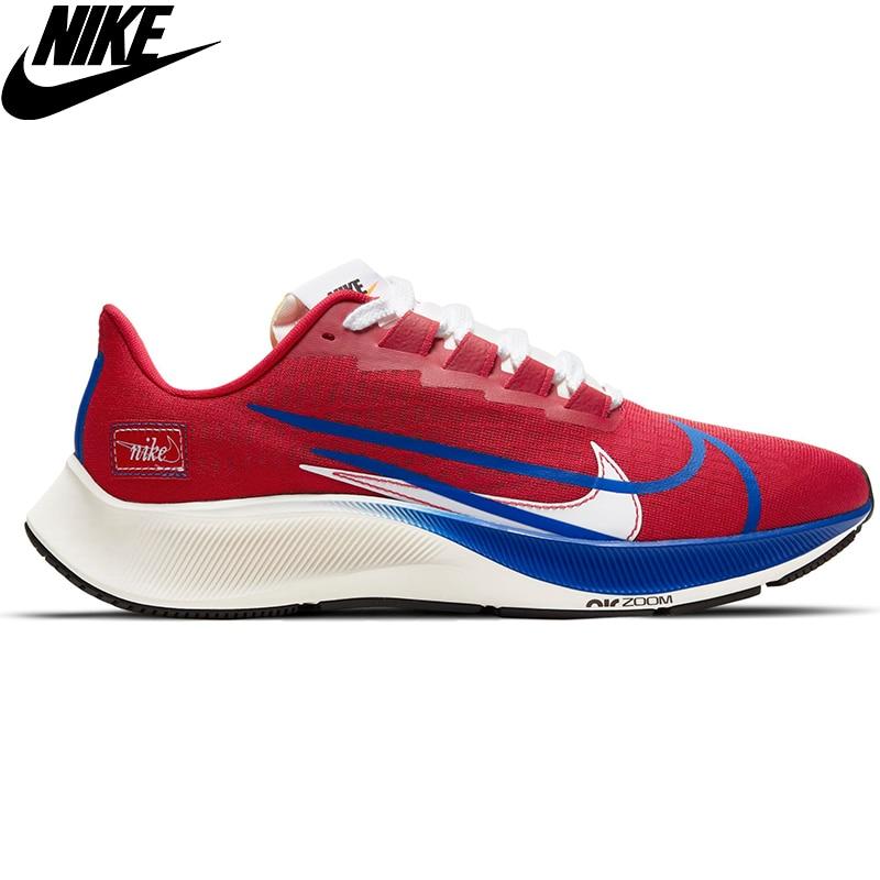 Original Nike Air Zoom Pegasus 37 Premium Men 'S Sports Running Shoes-Nike Men 'S Running Shoe Red CQ9908-600