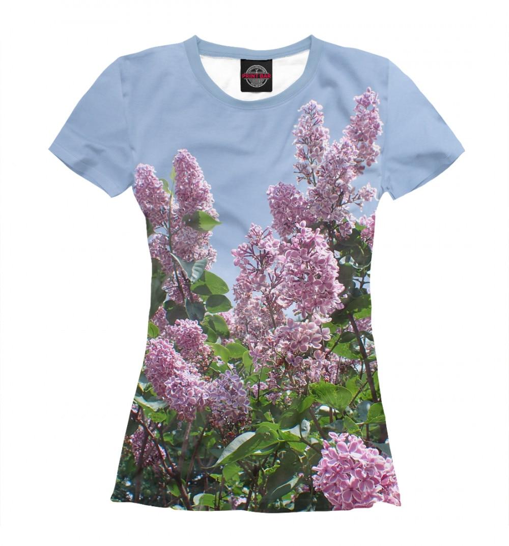Camiseta feminina lilás