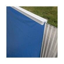 GRE FPR301 - Liner bleu pour piscines système rond en acier pendentif diamètre 300x120 cm 40/100