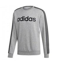 Adidas Essentials 3 männer sweatshirt-Streifen grau schwarz Streifen EI4902