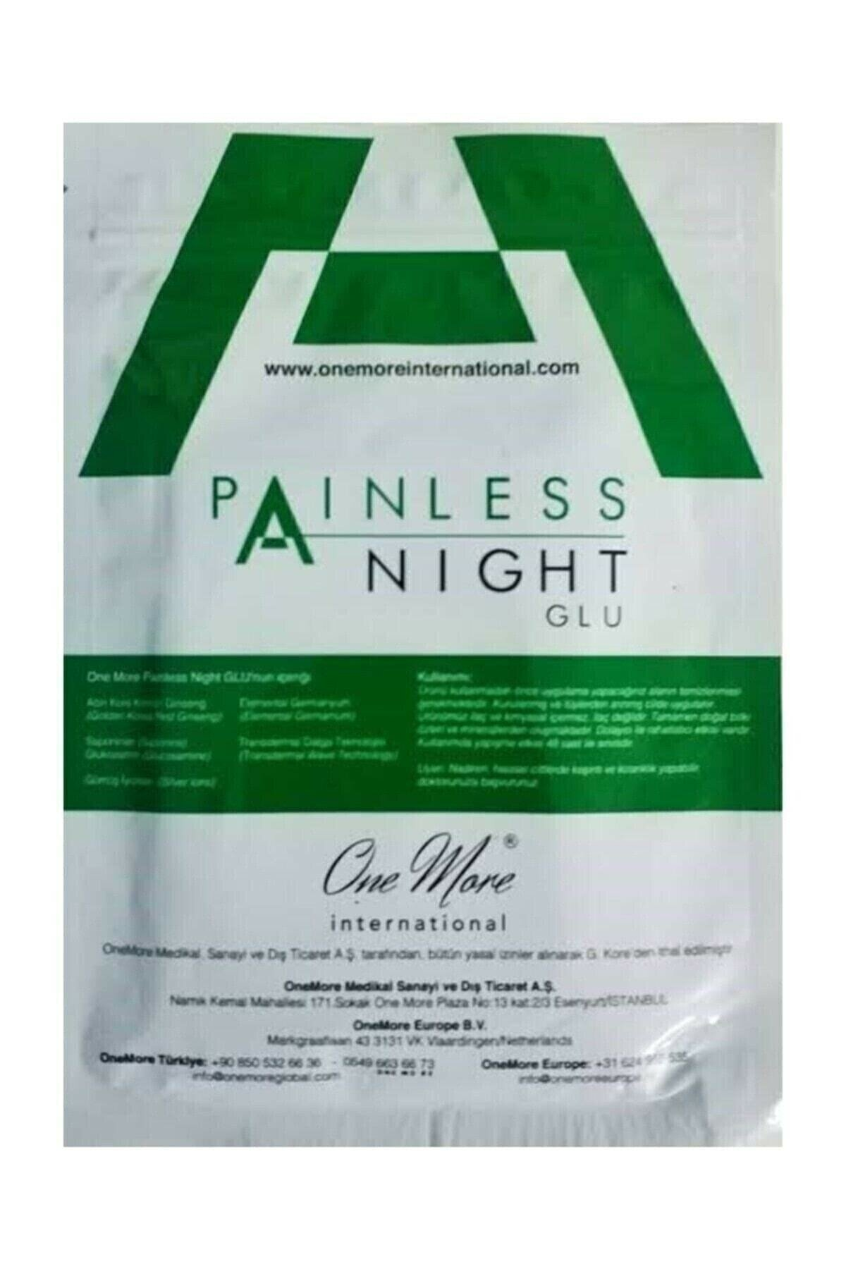 International Painless Night Glu original One-more Neck pain relief patch 25 pieces - Provides painless joints