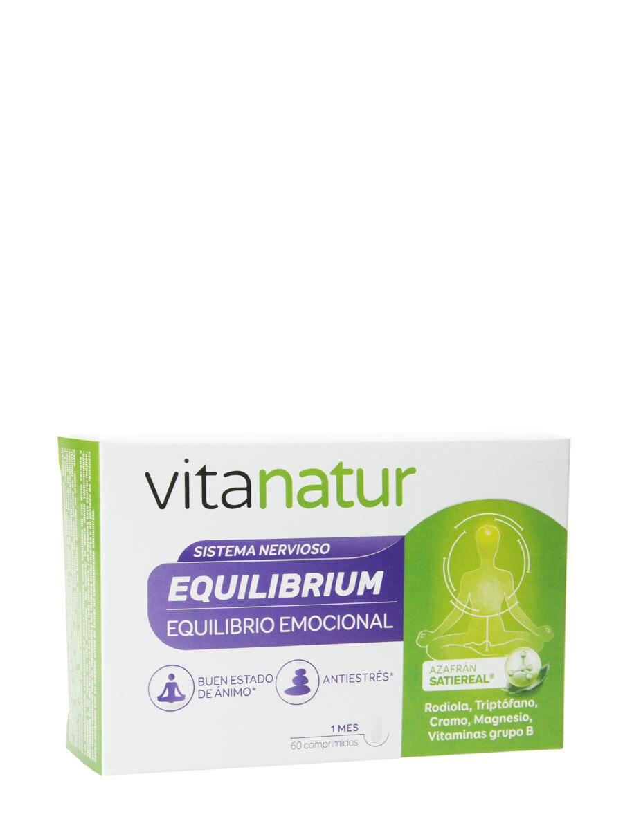 Vitanatur equilibrium 60 cápsulas Equilibrio emocional, antiestrés.