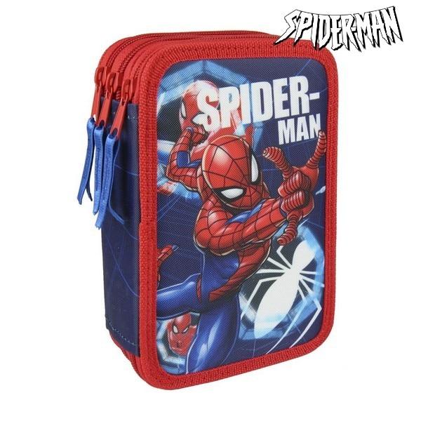 Estuche de lápices Triple Spiderman 3561