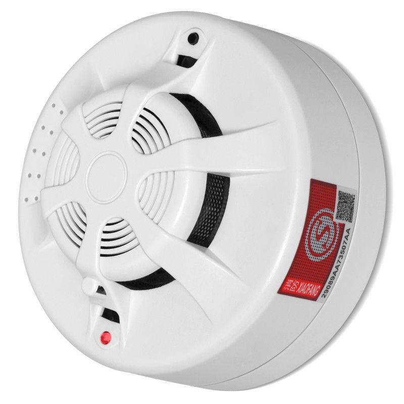 واي فاي كاميرا IP كاشف الدخان 1080P HD P2P كاميرا شبكة مراقبة التوصيل والتشغيل أمن الوطن كاميرا صغيرة مراقبة الطفل CCTV اللاسلكية