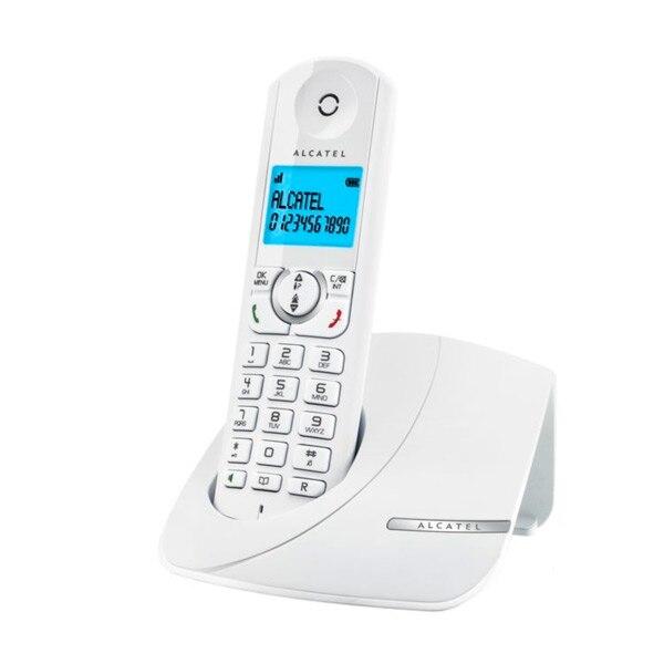 Telefone sem fio duo alcatel F380-S (2 peças) branco
