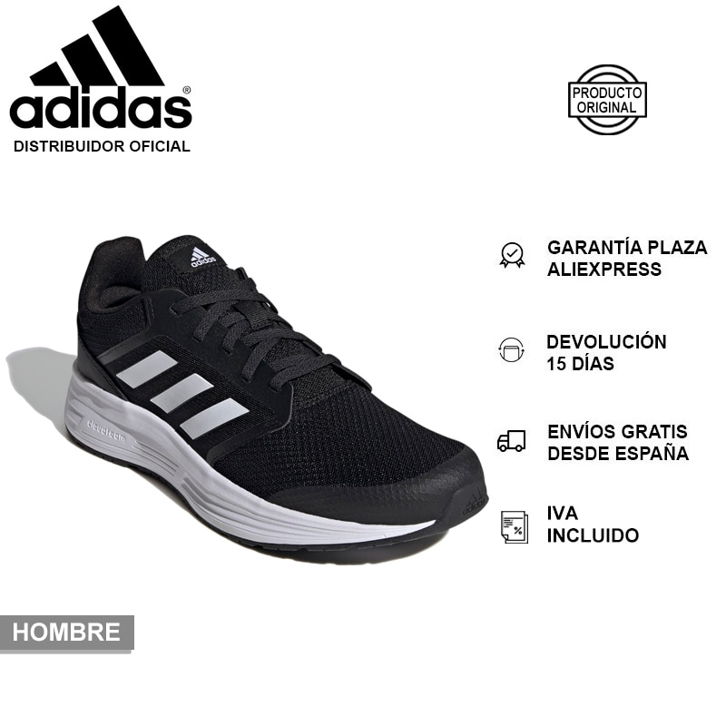 Adidas Galaxy 5, Running Shoes, Mens Trainers, Mesh Upper, OrthoLite Insole, Cloudfoam, Rubber Outsole - NEW AND ORIGINAL