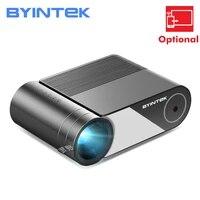 BYINTEK     Mini projecteur LED LCD K9 Portable  1280x720P  pour cinema 3D 4K  1080P  Option multi-ecrans pour Iphone