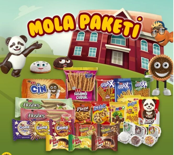 Break pack snack set leisure holiday home party camping 27 items in a   FREE SHİPPİNG