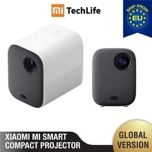 Mi Smart Compact Projector Mi Smart Compact Projecteur (portable 1920*1080 Soutien 4K Vidéo WIFI Projecteur LED Beamer TV Full HD pour le Bureau Home Cinéma)