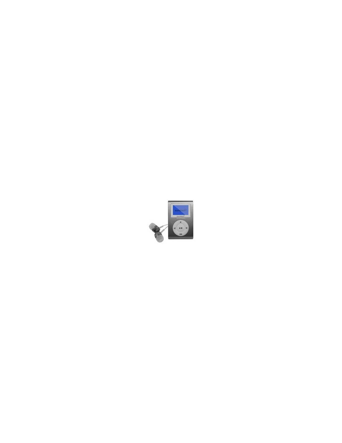 Sunstech Dedalo III Gris 8GB Reproductor MP3