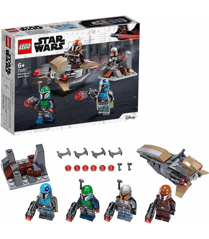 Lego 75267 Pack de Combate Mandalorianos Star Wars Juguetería