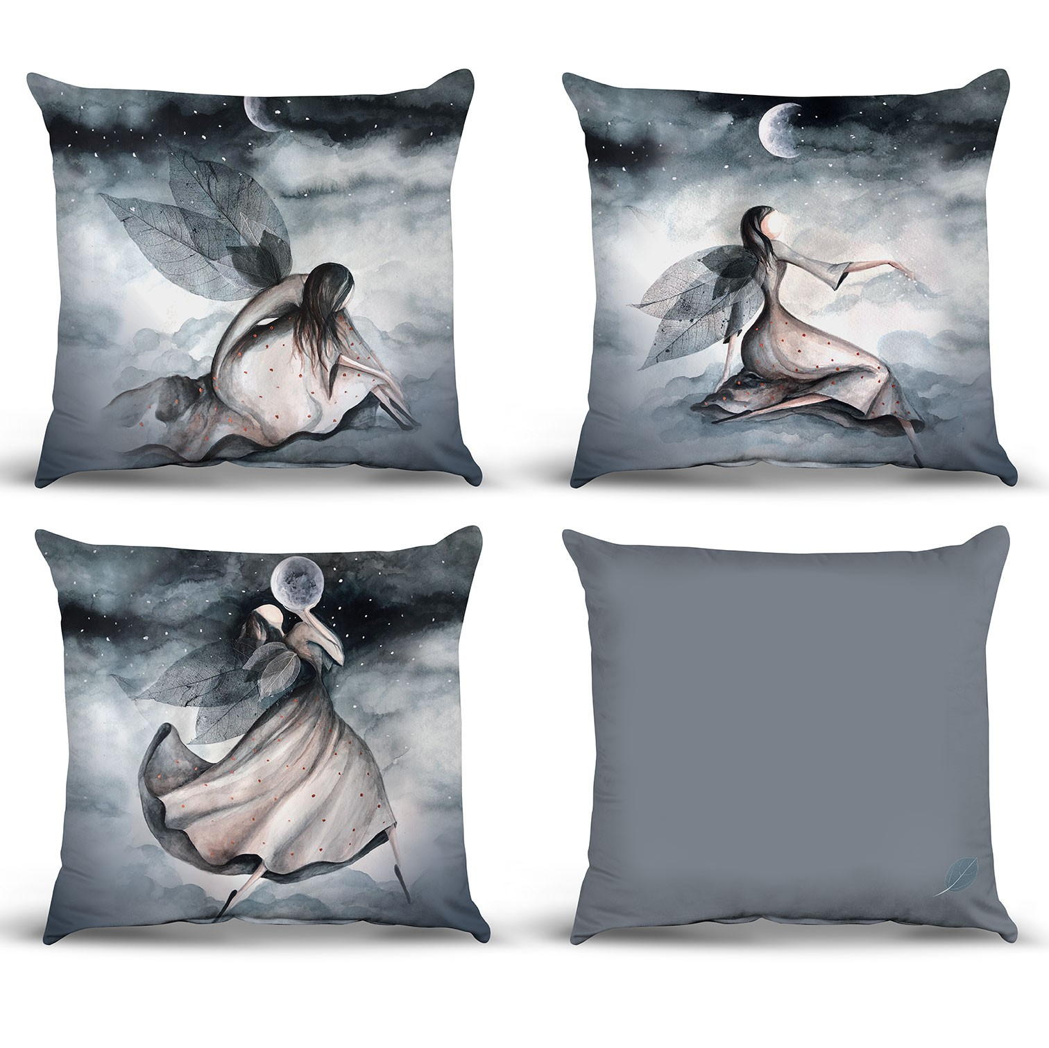 الجدول الرسم البياني Pillow نموذج 03 ليلة الجنية مجموعة مفهوم تصميم تصميم جودة وسادة غطاء 1st الجودة