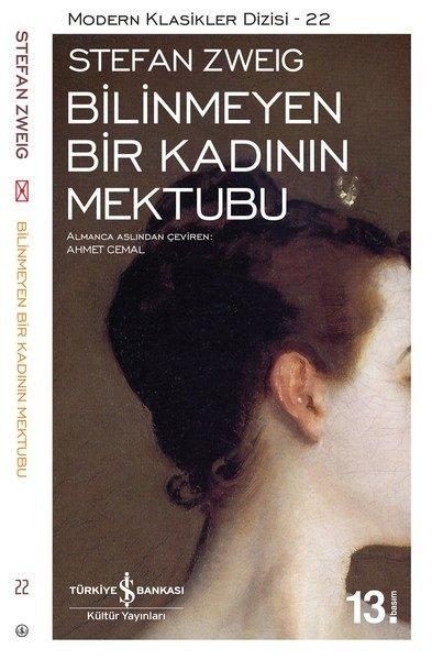 Bilinmeyen Bir Kadının Mektubu - Stefan Zweig, Türkçe Kitap, okunması gereken kitaplar serisi,