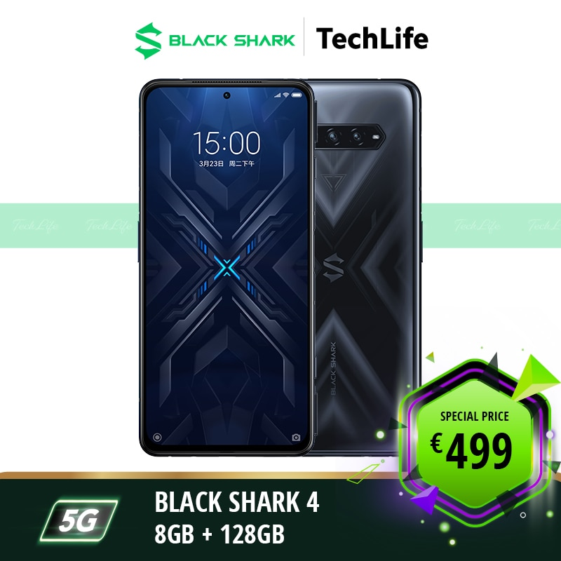 [EU Version] Black Shark 4 128GB Rom 8GB Ram Gaming phone Smartphone Mobile blackshark4