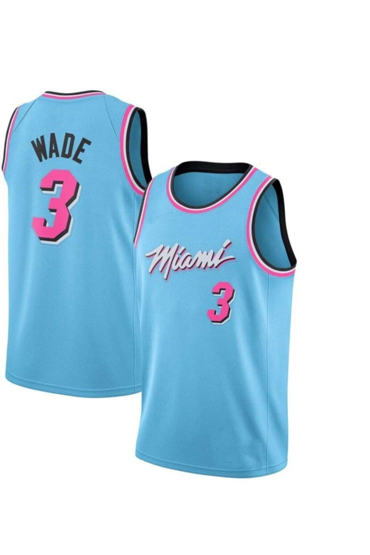 Nba Basketball Miami Heat Dwyane Wade City Edition Jersey