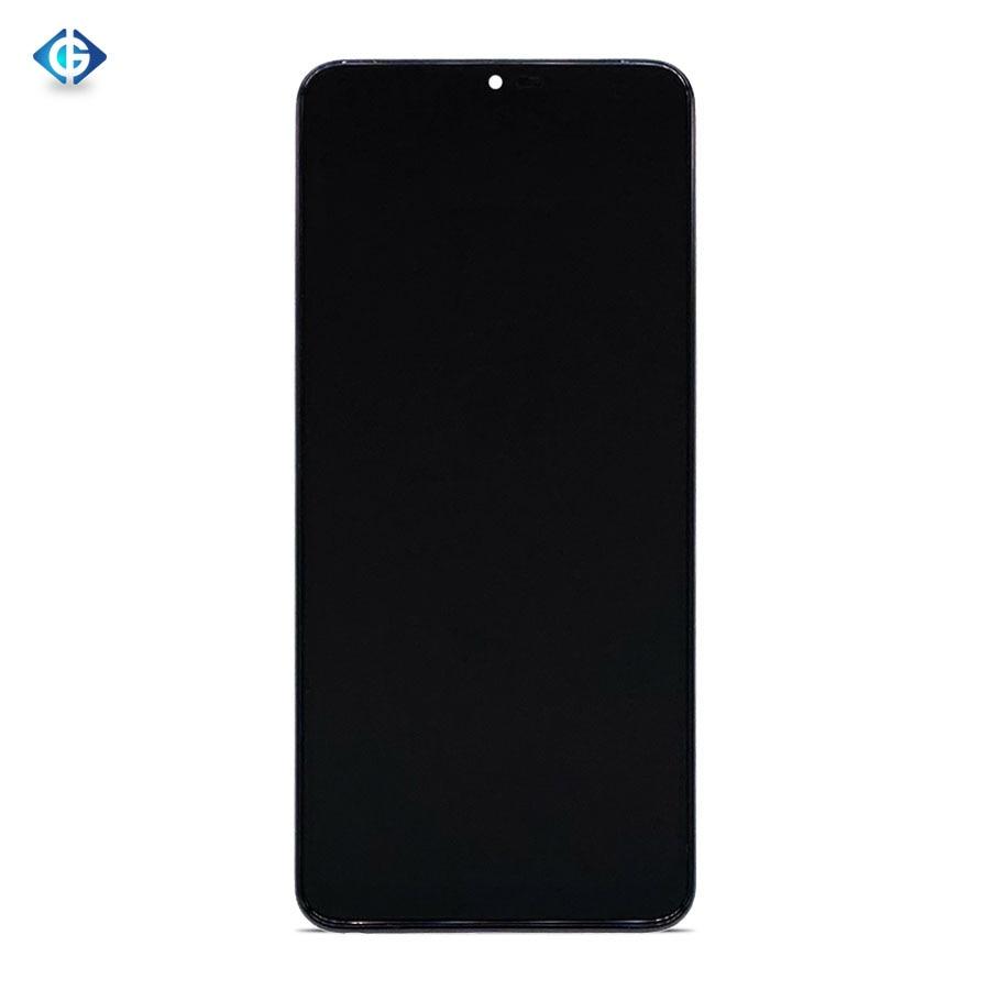 10 Uds. Pantalla delgada para LG G7 G7 G710 G710EM G710PM pantalla LCD montaje de pantalla táctil digitalizador + Marco de envío por DHL