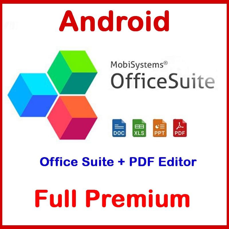 Android APK office Pro + PDF éditeur téléchargement dapk Premium (2020)