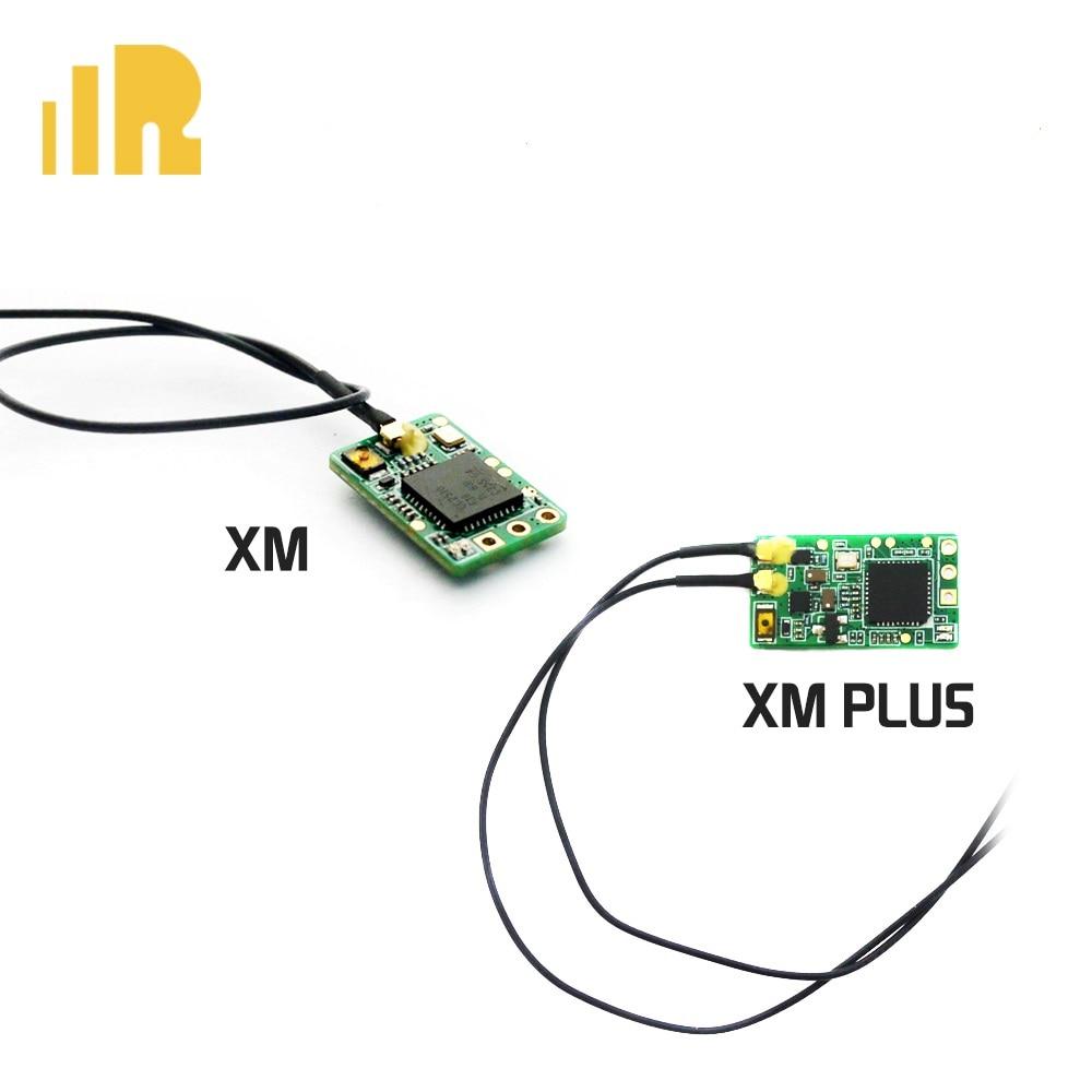 FrSky XM Plus جهاز استقبال صغير يصل إلى 16CH 1.6g مجموعة كاملة تناسب الطائرة بدون طيار الصغيرة
