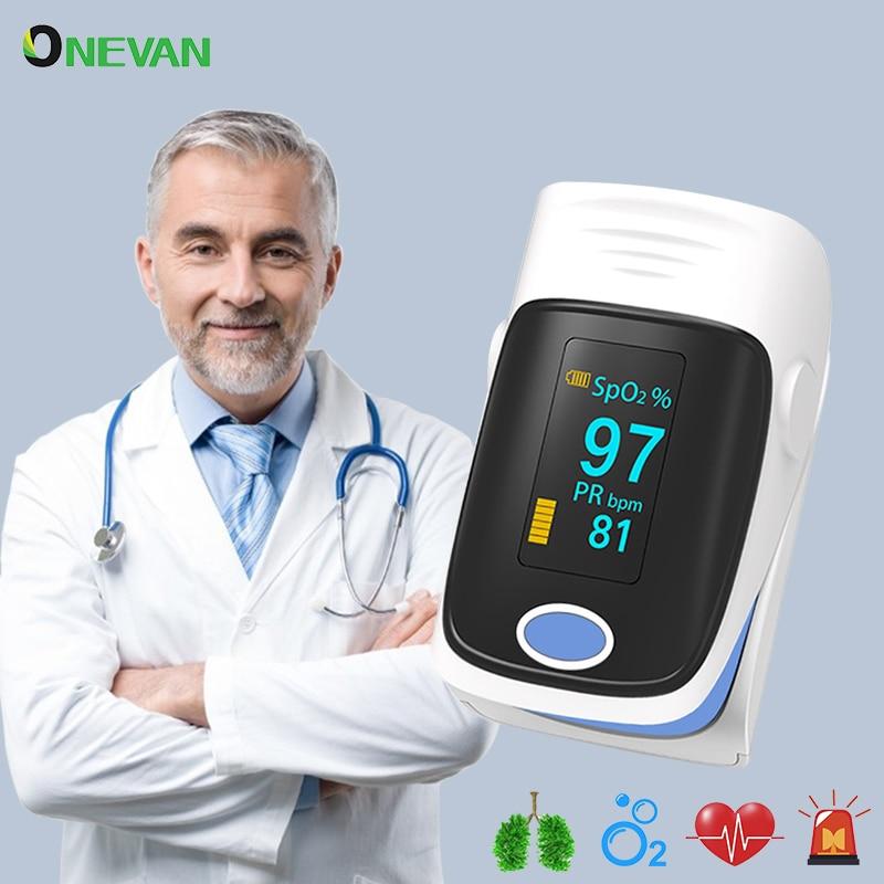 Household OLED Pulse Oximeter Finger Oximeter SpO2 PR Blood Oxygen Saturation Meter Professional Heart Rate Monitor Health Care