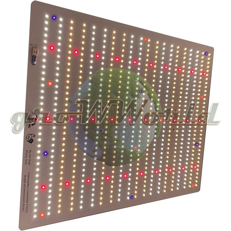 Лампа для растений Quantum Board Firefly 2.0 240W c диодами Samsung, Philips, Refond, Lumileds, Cree