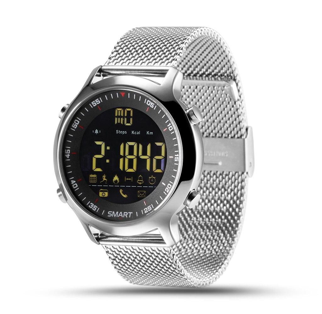 Relógio carcam relógio inteligente EX18-SILVER