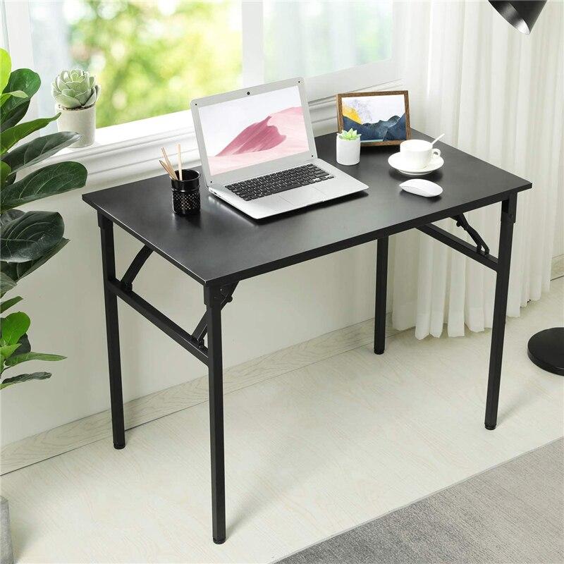 Escritorio plegable portátil para ordenador, mesa plegable para ordenador portátil, escritorio de...