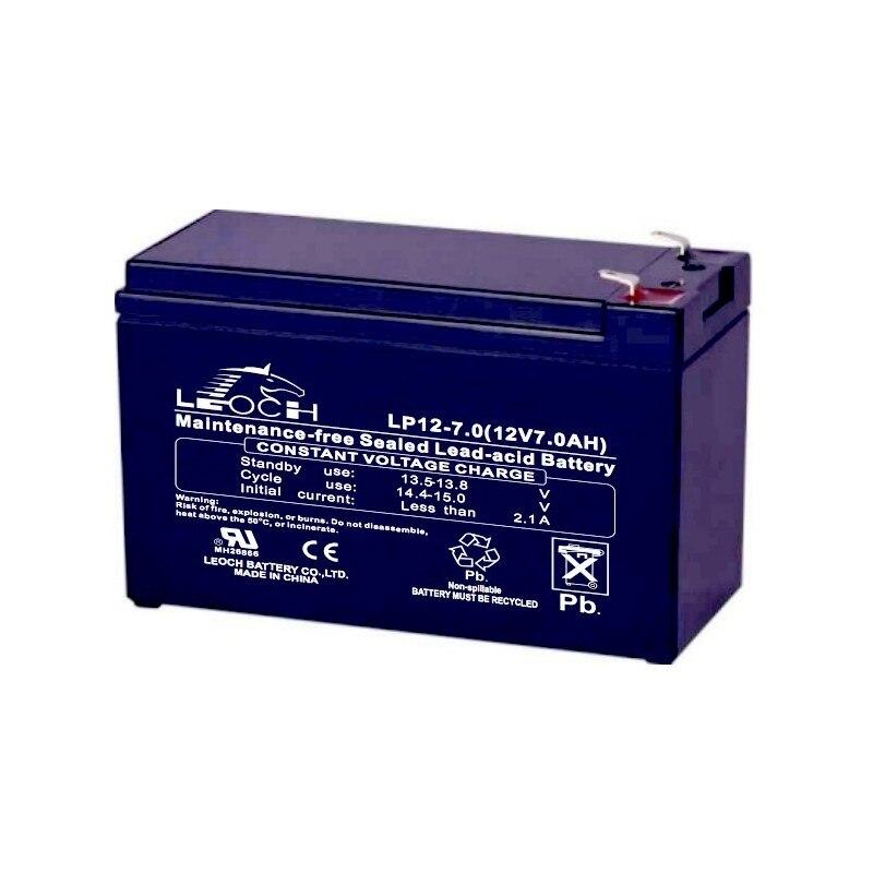 Батарея 12В 7ач свинцово-кислотная