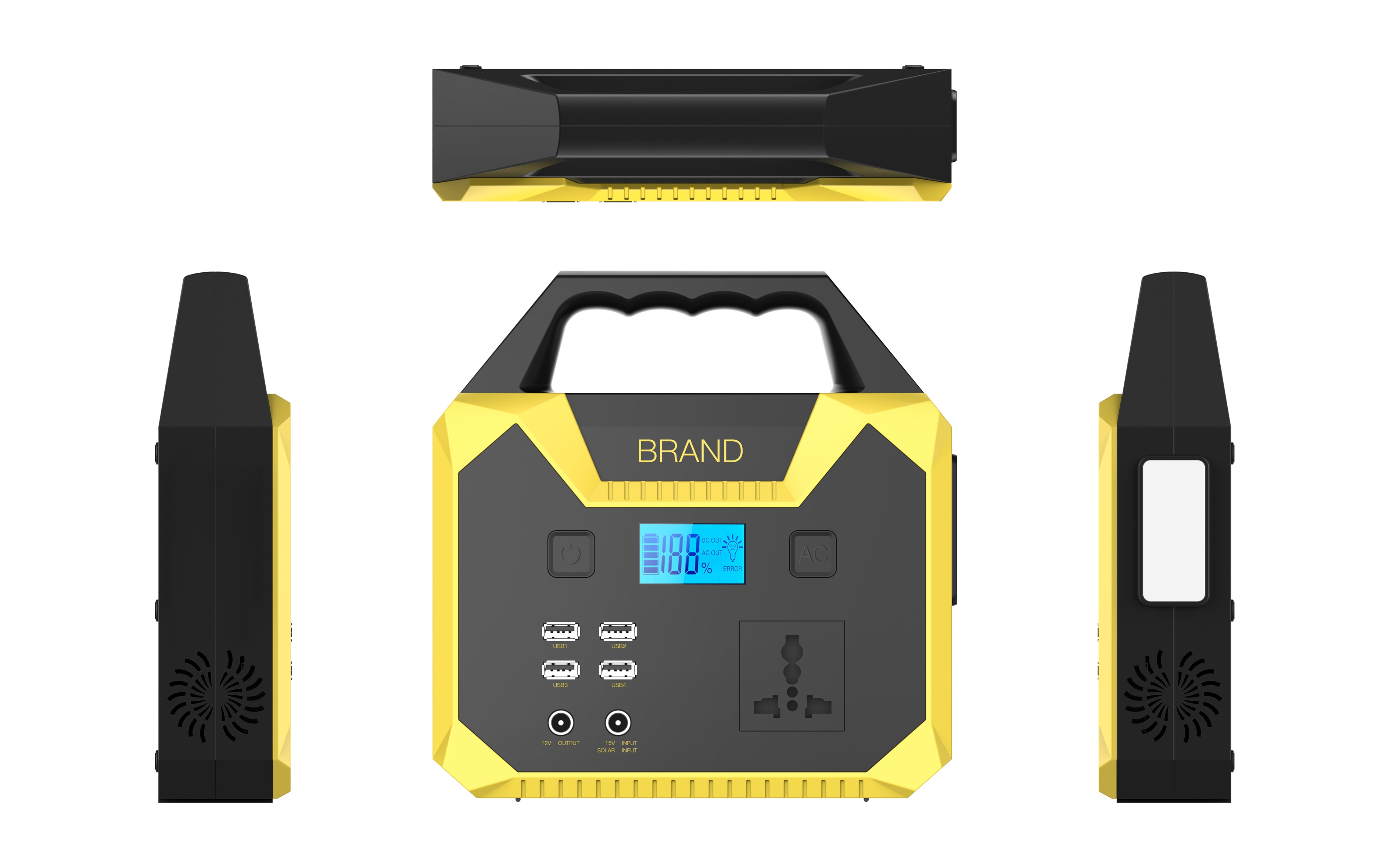 Best Selling Factory Supply Portable Solar Generator 150Wh Home Use Backup Power Station Emergency Battery For Camping Travel