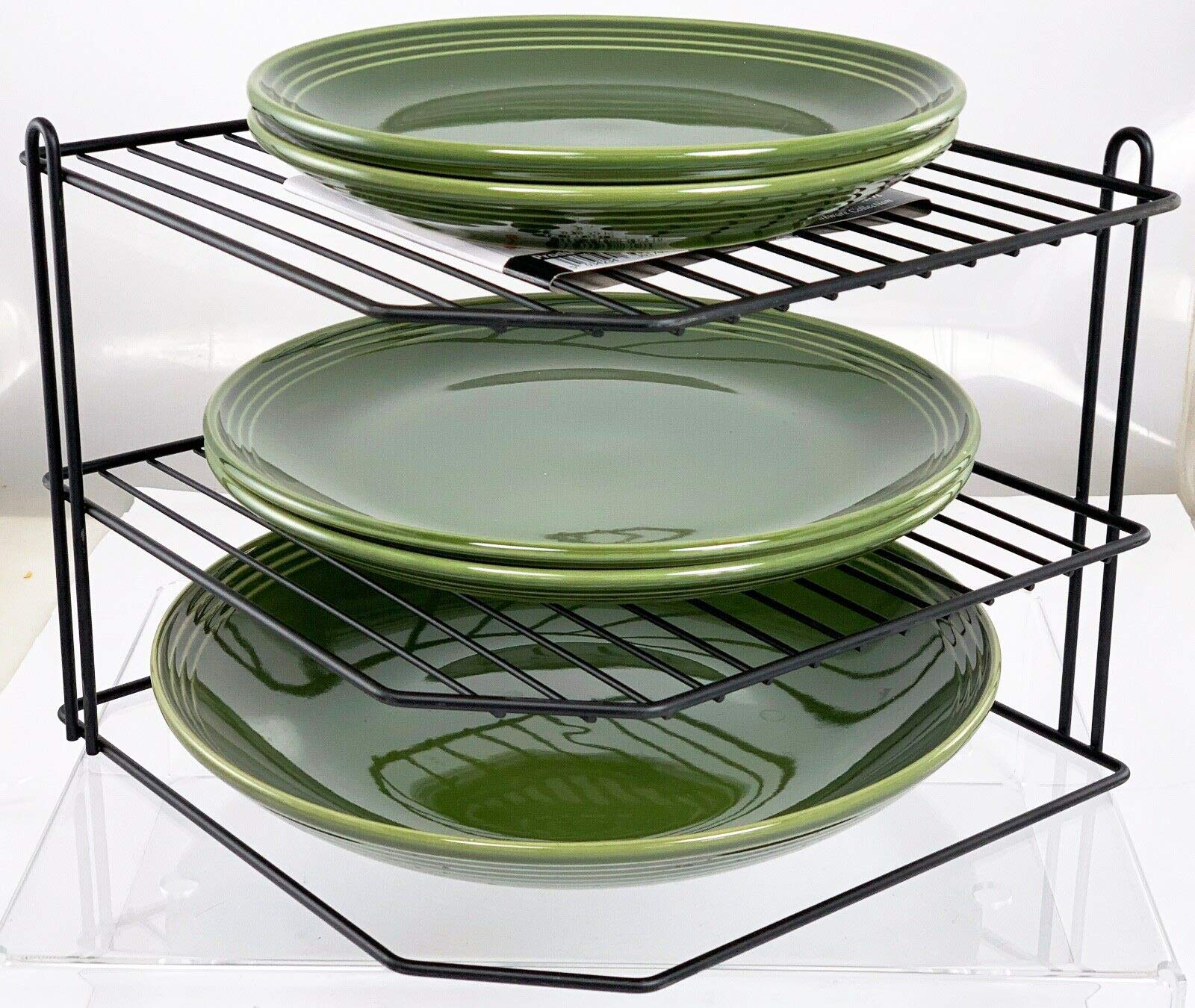 Kitchen Organizer Pot Lid Rack Spoon Tray Stand Holder Shelf Cooking Dish Rack Pan Cover Stand Kitchen Accessories Home Storage