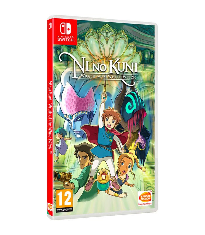 Ni No Kuni La Ira de la Bruja Blanca Remastered Switch Juegos Nintendo Switch Namco Bandai Partners Iberica S.A. Edad 12+