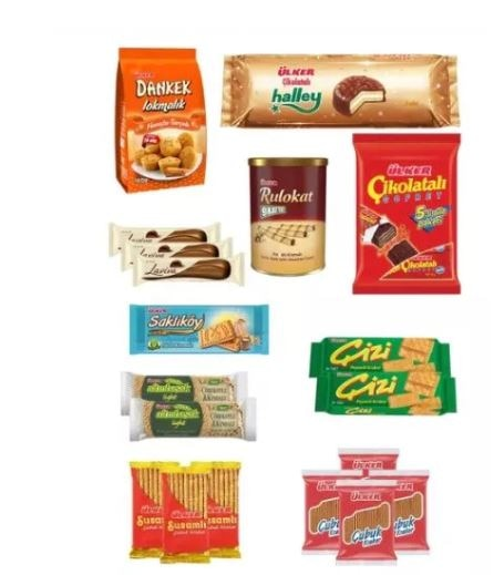 Turkey nostalgic tin box gift package with snacks taste delicious multicultural special gifts for adults and children made in tu