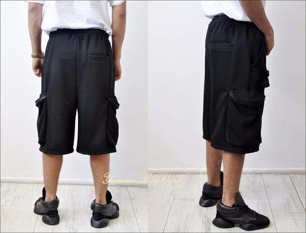 Summer Europe and America Street Hip-hop Loose Multi-Bag Tooling Pocket Pants Shorts / Sports Shorts Tactical Cargo Short