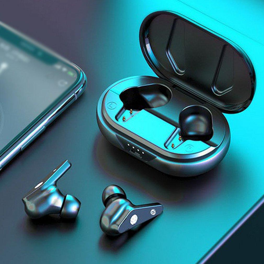 Wireless Earphone Bluetooth 5.0 Wireless Earphone Intelligent Noise Reduction Smart Touch Wireless E