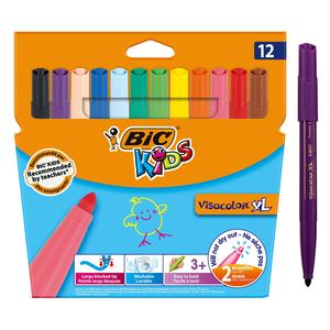 Bic Felt Pen Visacolor XL Ecolutions  Jumbo