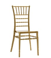 CHIAVARI chair NEW polypropylene Golden