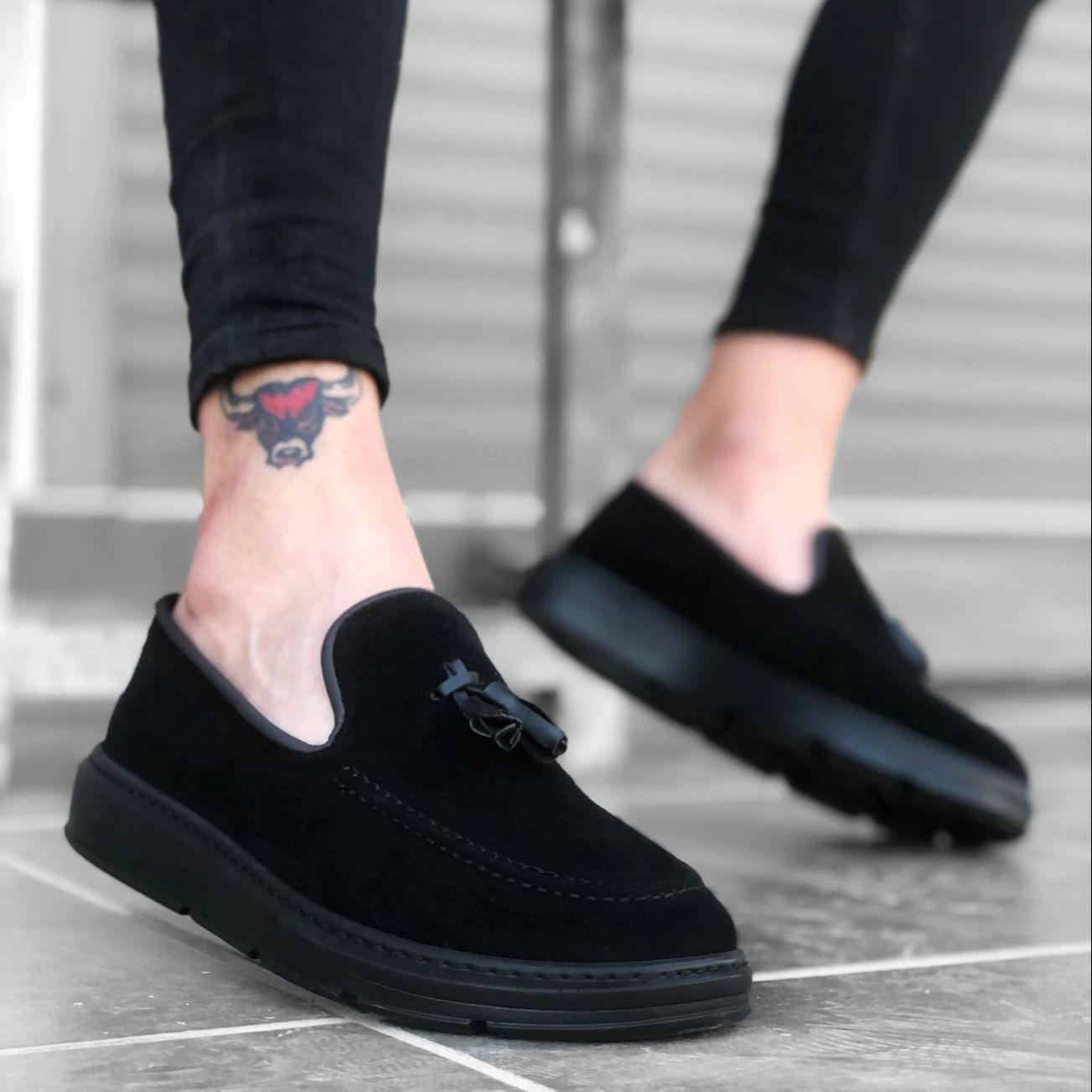 أحذية رجالي موضة 2021 أحذية رياضية بيضاء فاخرة أصلية مريحة وخفيفة الوزن مناسبة للمشي والتنس أحذية رياضية رجالية BA0005 قاعدة عالية من جلد الغزال