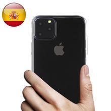 Coque pour iphone 11 11 pro 11 pro max 100% GEL silicone transparent pour Apple Iphone XI XI MAX XI MAX PRO