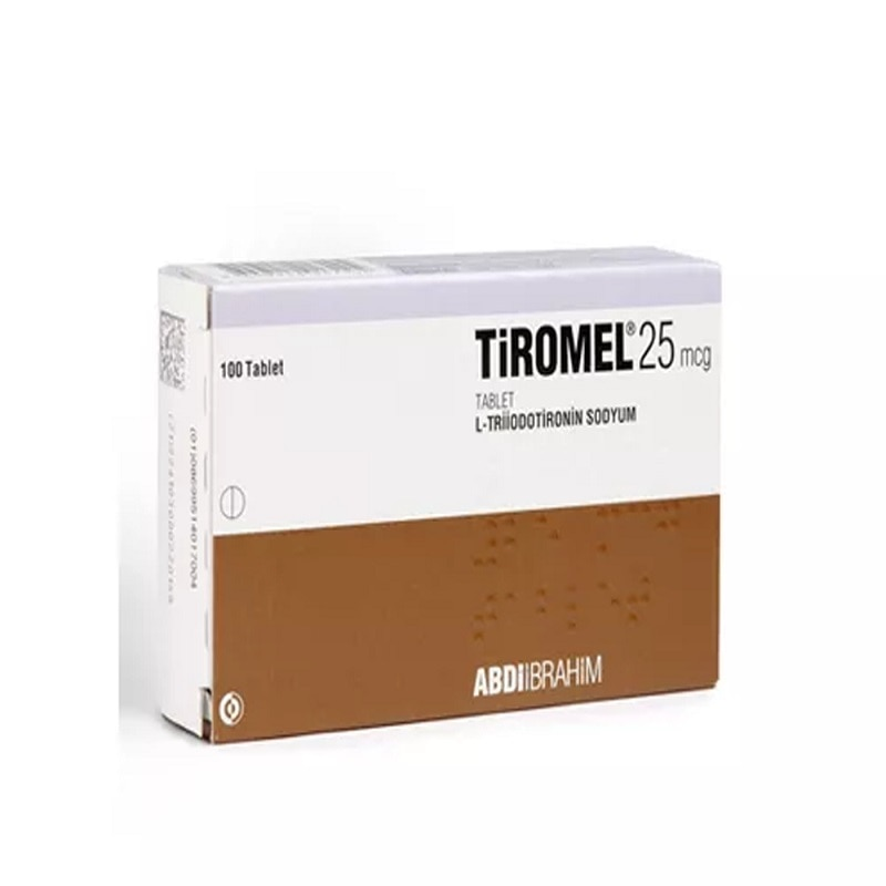 Tiromel 25mcg 100 tabs T3 hormone secretagogues secretagogoues Bodybuilding fitness fit sports supplements For men and For Women