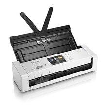 Annonces de frère de Scanner portatif de Wi-Fi de couleur Duplex-1700 7,5 ppm 1200 dpi blanc