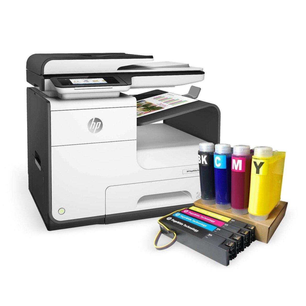 Hp Pagewide Pro 477Dw (D3Q20B) принтер и XXL-система картриджей